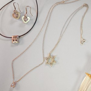 Raimie can take various pieces of jewelry and create something you love and want to wear - get it out of the drawer