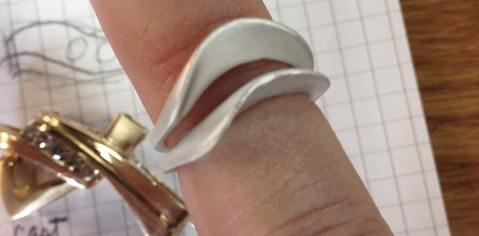 Brooch To Ring Jewelry Redesign Custom Design Jewelry