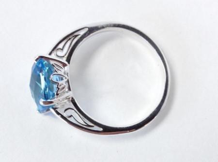 side view30th wedding anniversary ring