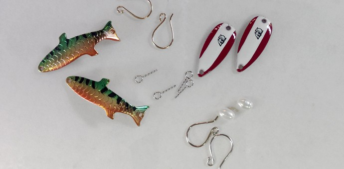 fish lures and fresh water pearls