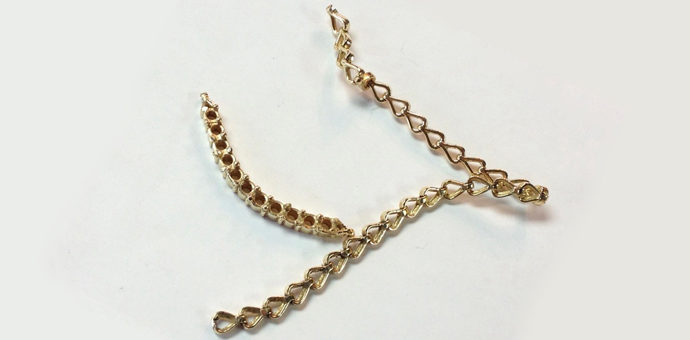gold link chain 14k