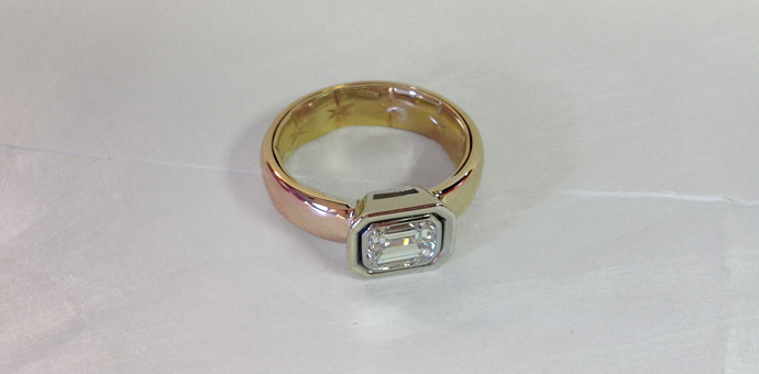 parents wedding bands redesigned to a new ring