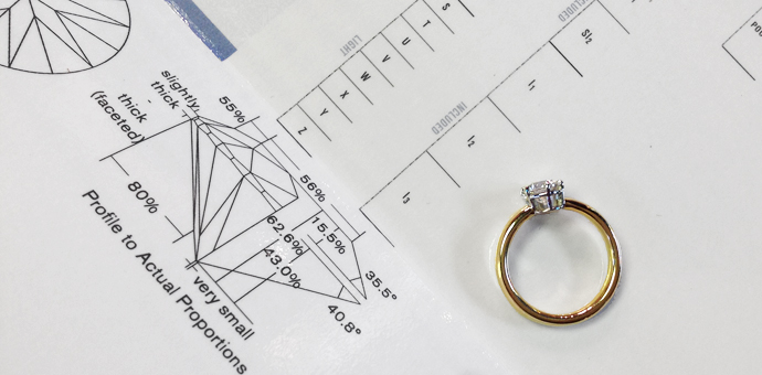 Parts Is Parts Engagement Ring