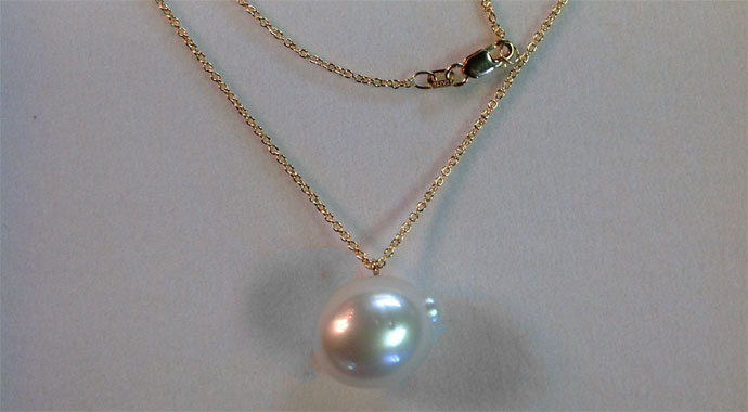 why not give yourself a gift - this paspaley pearl necklace