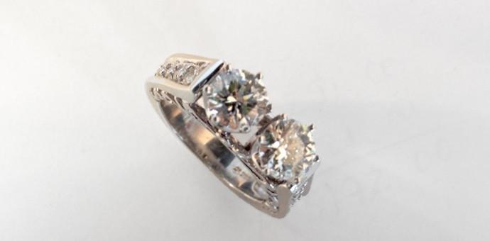 Modern yet vintage feel redesigned wedding wedding sets for Redesign wedding ring