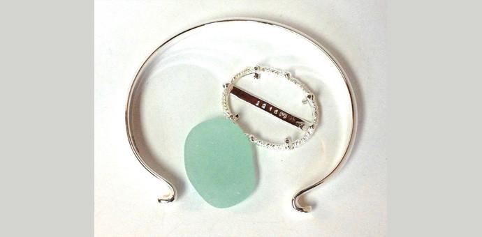 Sea glass bracelet - idea for new design