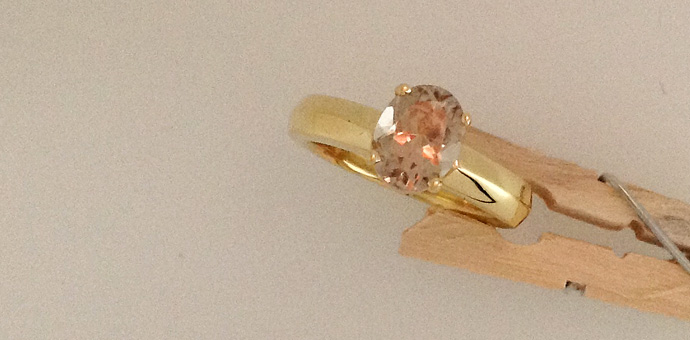Raimie Weber Jewelery - made this ring for long term client. Stone looks brown here but zultanite reacts to the light